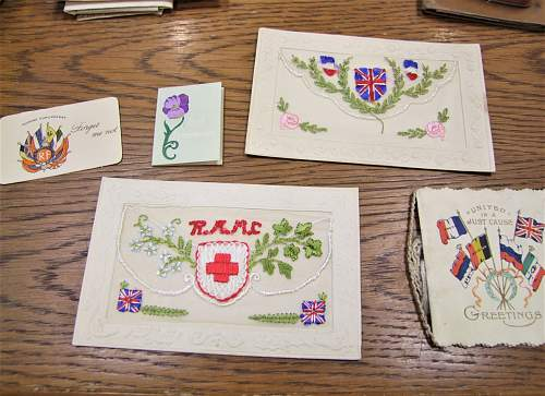 Canadian 58th Battalion KIA group, personal effects?