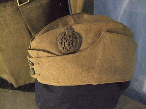 To identify possible ww1 field service cap