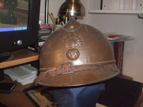 Please post your world war one french uniforms and equipment!
