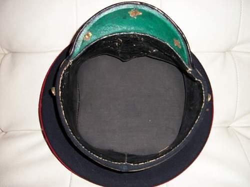 1906 pattern grenadier guards officer's cap