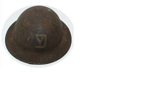 Original WWI era M1917 helmet?