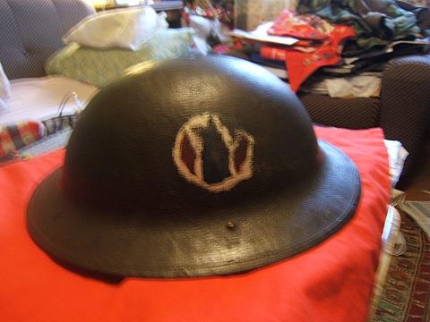 WW1 US army helmet