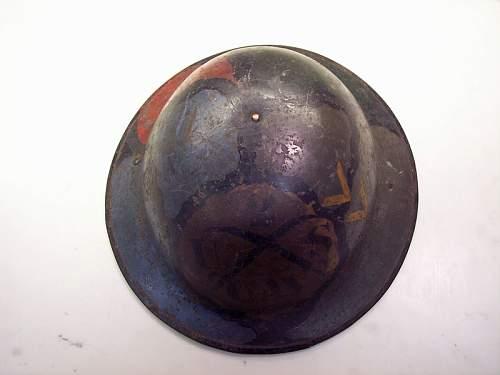 WWI US Helmet