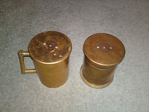 Great war 18pdr cases, Can anyone tell me more?