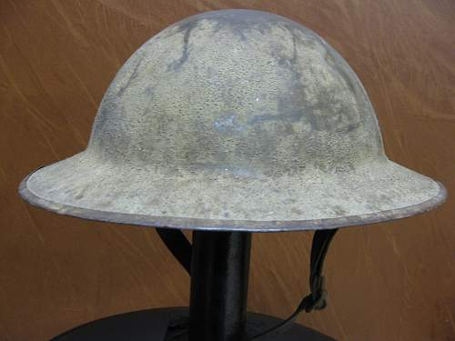 WW1? British? Helmet