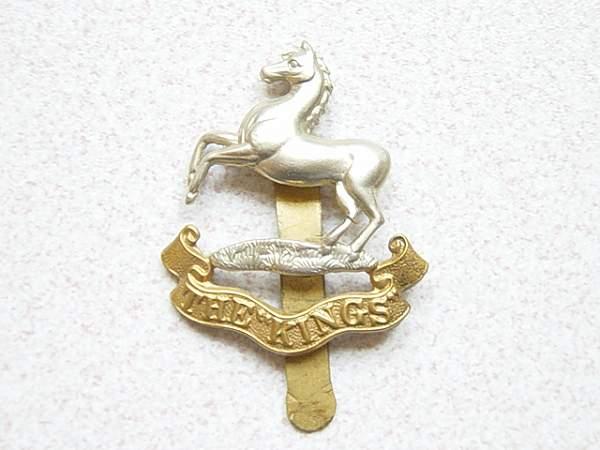 Liverpool Regt cap badge