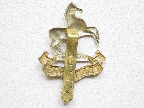 Click image for larger version.  Name:Liverpool Regt cap badge. 002.jpg Views:276 Size:150.2 KB ID:18455