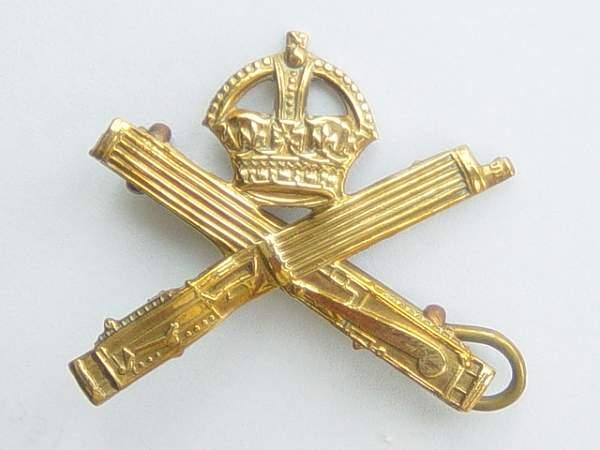 Machine Gun Corps collar dog