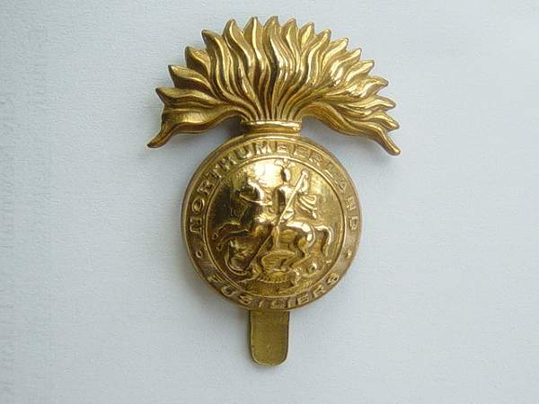 Click image for larger version.  Name:Northumberland Fusiliers cap badge.jpg Views:1833 Size:142.9 KB ID:18942