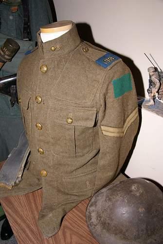 Royal Canadian Artillery Tunic