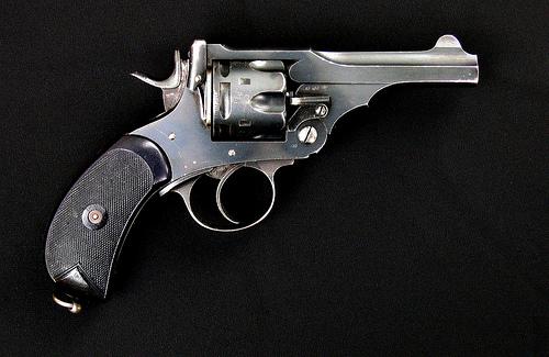 Webley Revolver Question