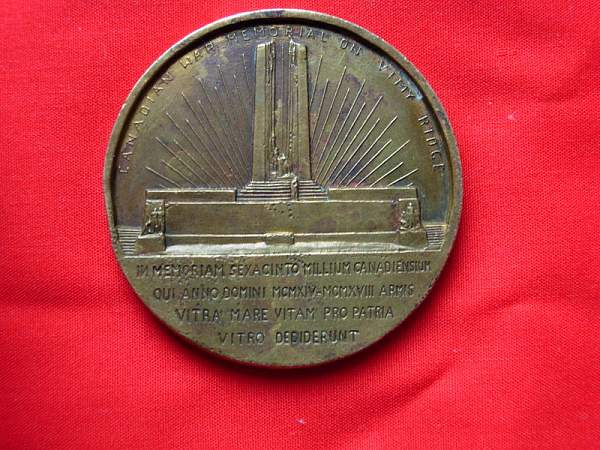 Vimy Victory and WWI items