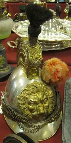 Need hellp - is this a real 1851 Belgian Kurassier helmet?