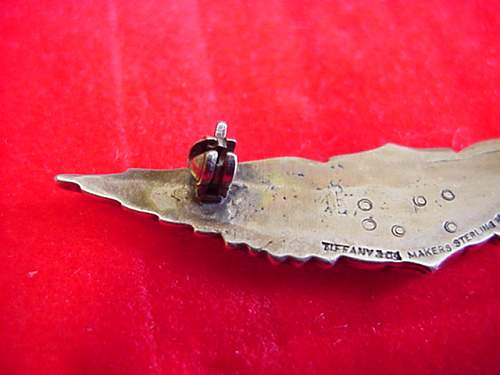 Us wwi pilot wings tiffany marked real or repo??
