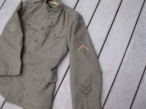 WW1  77th jacket