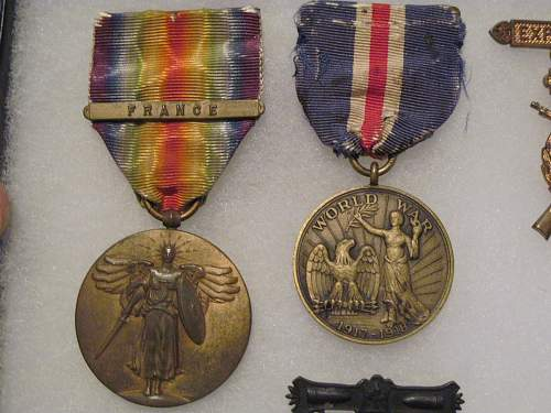 Click image for larger version.  Name:WWI Conn medals.jpg Views:177 Size:252.2 KB ID:217229
