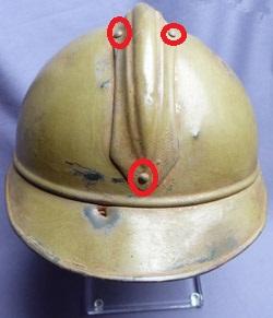 ID on helmet i think it's French WW1 ?