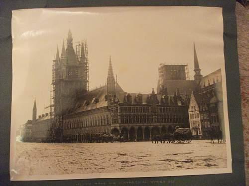 WW1 War photographs