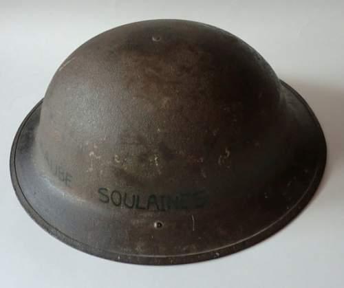 US doughboy helmet