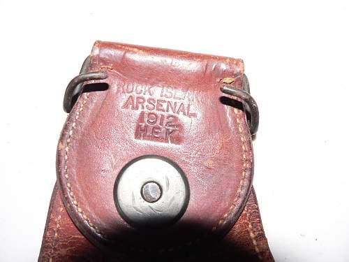 pistol holster WW1 USA pics, need identifying