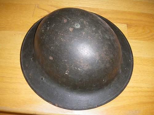 ww1 Canadian Helmet