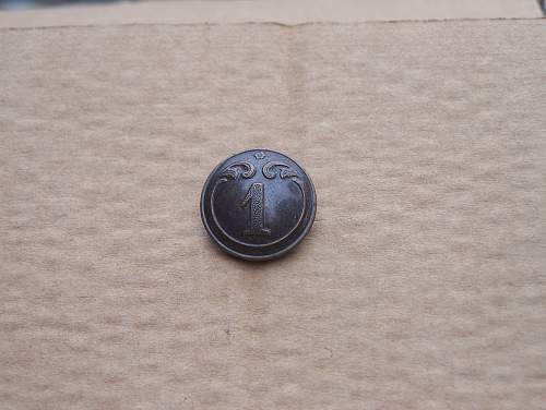 Belgian military regimental buttons for trade