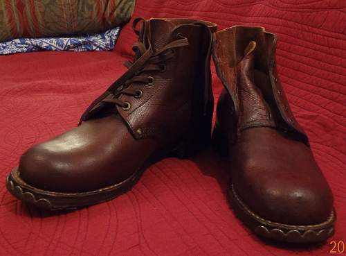 Help identifying boots?? French?