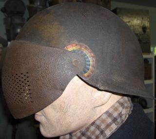 Rare french prototype helmet