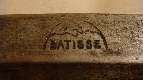 WW1 French butchers blade. 1915? Trench knife.