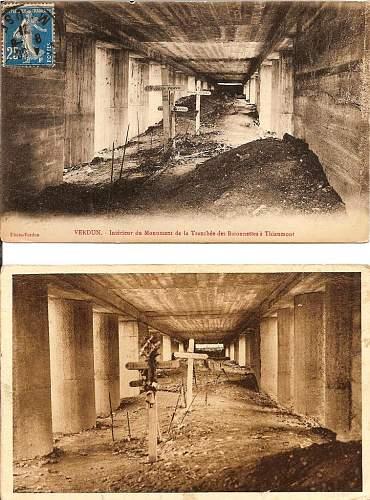 Verdun postcards
