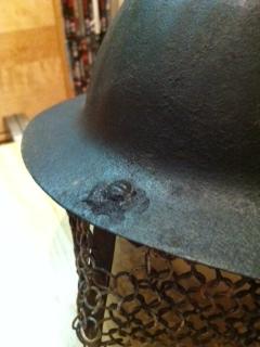 ww1 British/commonwealth helmet?