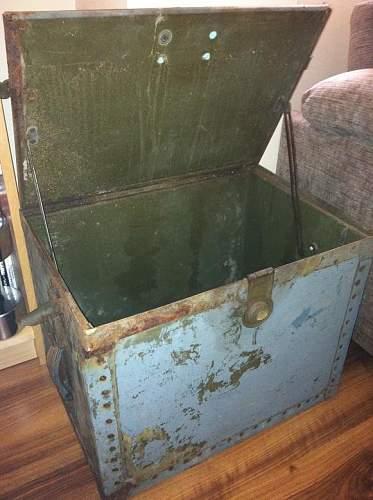 ww1 box/crate?
