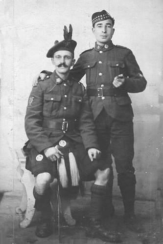 My Grandad: Clp Isaac Stevenson RA 1915-1919.