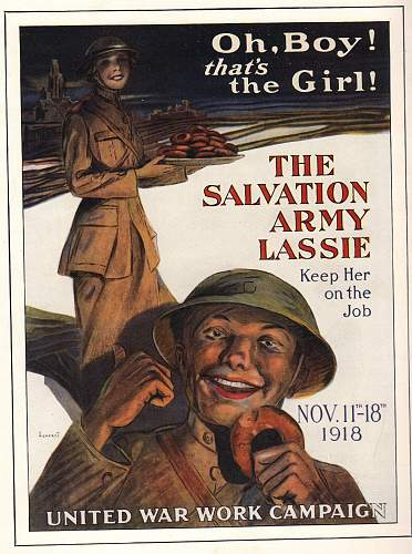 WWI American Posters Depicting Women