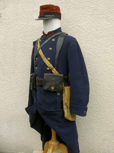 1914 French infantryman , 26th Regt , Mannequin