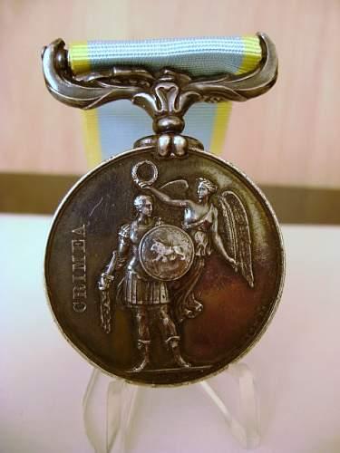 British Victorian medals