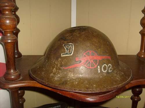 My Yankee Div grouping, 102 field artillery