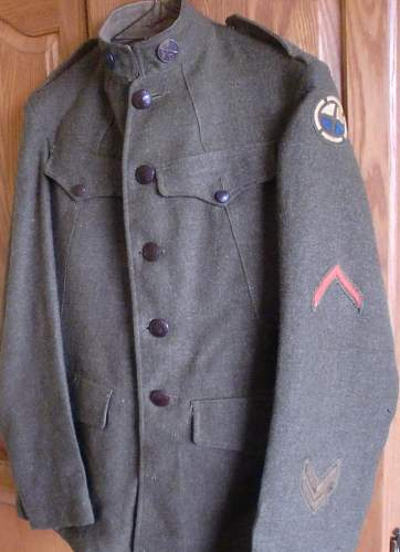 35th Div Tunic and Breeches.