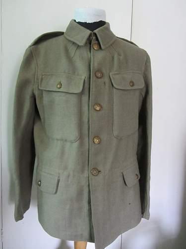 British army other ranks  emergency pattern  utilty service dress,  1914
