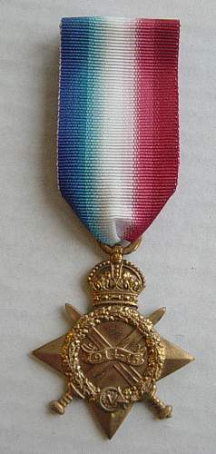 1914-15 Star to Pte William Duncan, Army Cyclist Corps