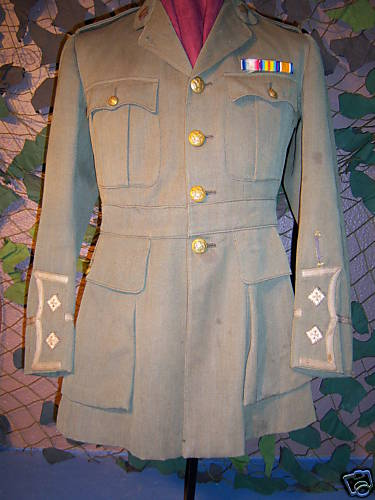 WW1 Canadian Army Officer's Tunic tailored by Burberrys, could someone tell me the value, please ?