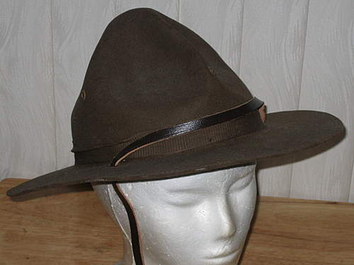 Is this an original WW1 Campaign Hat?