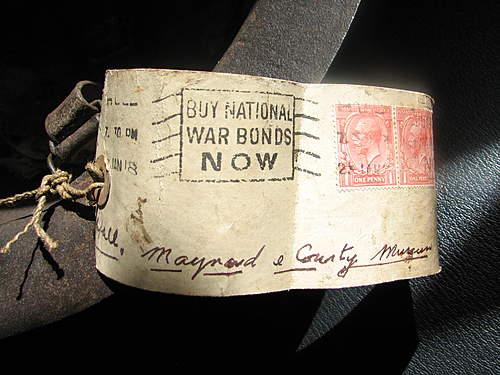 WW1 British raw edge Brodie. Early battlefield souvenir?
