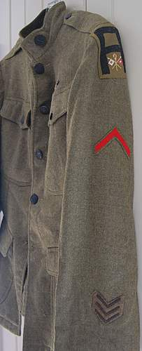 WWI First Army Uniform Grouping