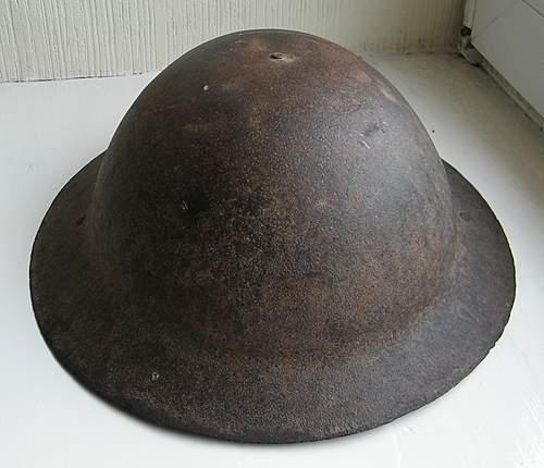 MkI or Raw edge Brodie/Tommy helmet