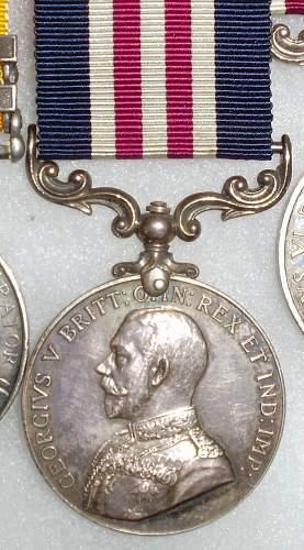 WW1 British medal group