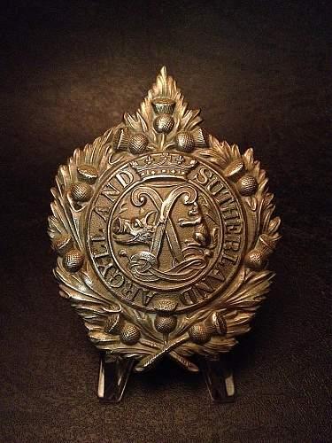 A Selection of World War I badges