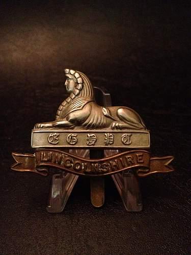Click image for larger version.  Name:Lincolnshire Regiment.jpg Views:64 Size:81.1 KB ID:399386