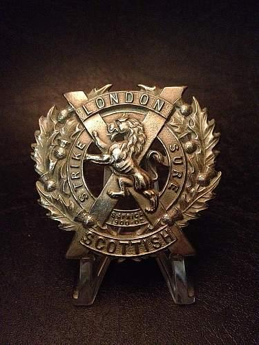 Click image for larger version.  Name:London Scottish Regiment.jpg Views:89 Size:112.8 KB ID:399387