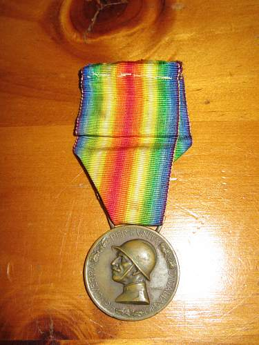 An unexpected surprise! My Great Grandfather's WWI Medals!